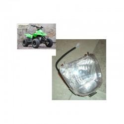 """FANALE QUAD ANTERIORE ATV 110 6"""" predator bamboo - miniquad con ruote luce - 1"""