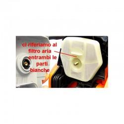 FILTRO ARIA PER MOTOSEGA 25CC POTATURA RICAMBIO ORIGINALE - 1