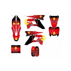 ADESIVI RED BULL X PLASTICHE KRZ PIT BIKE By Kayo Sticker - 1